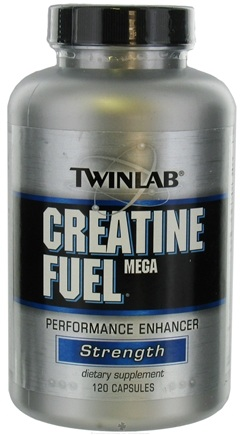 DROPPED: Twinlab - Creatine Fuel Mega Performance Enhancer - 120 Capsules