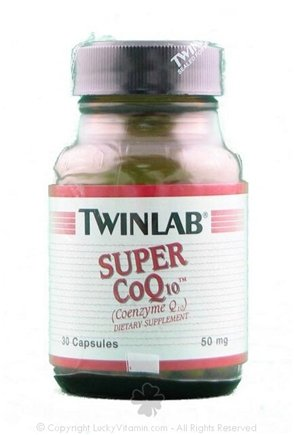 DROPPED: Twinlab - Super CoQ10 50 mg. - 30 Capsules