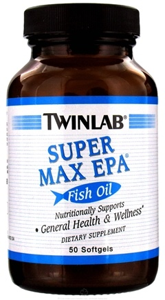 DROPPED: Twinlab - Super Max EPA - 50 Capsules