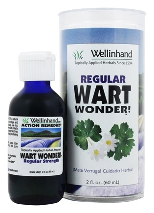 Wellinhand - Wart Wonder Regular Strength - 2 oz.