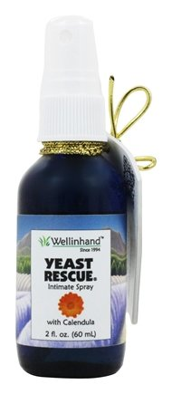 Wellinhand - Yeast Rescue Treatment Spray - 2 oz.