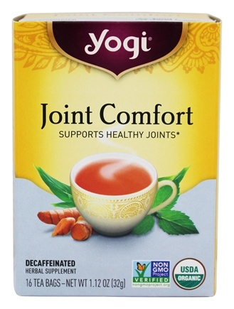 Yogi Tea - Joint Comfort with Organic Tumeric - 16 Tea Bags