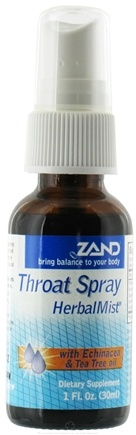 DROPPED: Zand - HerbalMist Throat Spray with Echinacea & Tea Tree Oil - 1 oz. CLEARANCE PRICED