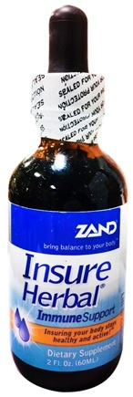 DROPPED: Zand - Insure Herbal Immune Support Liquid - 2 oz. CLEARANCE PRICED