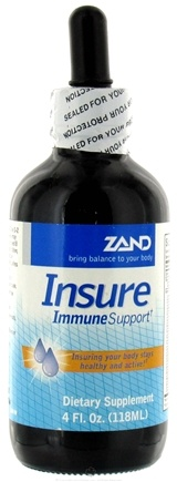 DROPPED: Zand - Insure Immune Support Liquid - 4 oz. formerly Herbal Insure