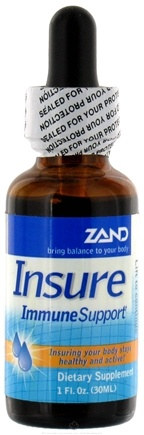DROPPED: Zand - Insure Immune Support Liquid - 1 oz. Herbal Insure - CLEARANCE PRICED