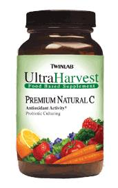 DROPPED: Twinlab - Ultra Harvest Premium Natural C - 90 Tablets