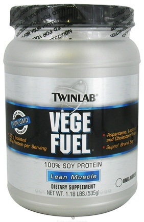 DROPPED: Twinlab - Vege Fuel Unflavored - 1.18 lbs. CLEARANCE PRICED