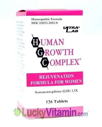DROPPED: Ultra Lab Nutrition - Human Growth Complex For Women - 126 Tablets