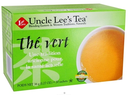 DROPPED: Uncle Lee's Tea - Green Tea - 20 Tea Bags CLEARANCE PRICED