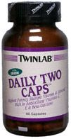 DROPPED: Twinlab - Daily Two Caps with Iron - 60 Capsules