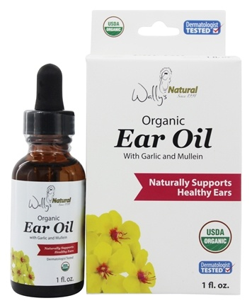 Wally's Natural Products - Organic Ear Oil - 1 oz.