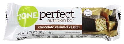 DROPPED: Zone Perfect - All-Natural Nutrition Bar Chocolate Caramel Cluster - 1.76 oz.