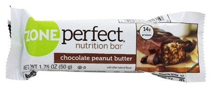 Zone Perfect - All-Natural Nutrition Bar Chocolate Peanut Butter - 1.76 oz.