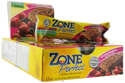 DROPPED: Zone Perfect - All-Natural Nutrition Bar Chocolate Raspberry - 1.76 oz.