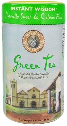 DROPPED: Wisdom of the Ancients - Instant Green Tea with Stevia - 4 oz.