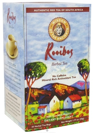 DROPPED: Wisdom of the Ancients - Rooibos Herbal Tea - 25 Tea Bags CLEARANCE PRICED