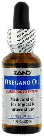 DROPPED: Zand - Oregano Oil - 1 oz.