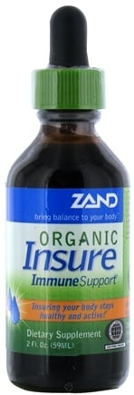 DROPPED: Zand - Organic Insure Immune Support Liquid - 2 oz. CLEARANCE PRICED