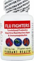DROPPED: Vibrant Health - Flu-Fighters 500 mg. - 70 Capsules
