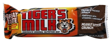 Schiff - Tiger's Milk Bar Peanut Butter Crunch - 1.23 oz.