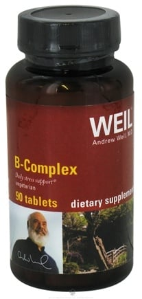 DROPPED: Weil Nutritional Supplements - B Complex - 90 Tablets