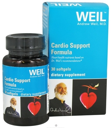 DROPPED: Weil Nutritional Supplements - Cardio Support Formula - 30 Softgels CLEARANCE PRICED
