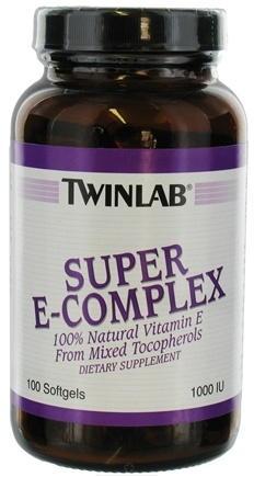 DROPPED: Twinlab - E Complex Super 1000 IU - 100 Capsules CLEARANCE PRICED