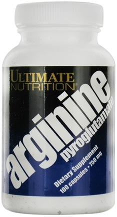 DROPPED: Ultimate Nutrition - Arginine Pyroglutamate Lysine - 100 Capsules CLEARANCE PRICED