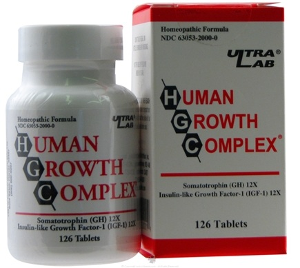 DROPPED: Ultra Lab Nutrition - Human Growth Complex - 126 Tablets