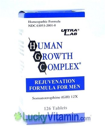 DROPPED: Ultra Lab Nutrition - Human Growth Complex For Men - 126 Tablets