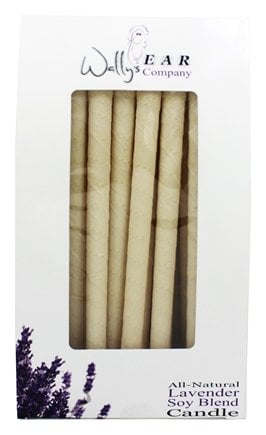 Wally's Natural Products - Soy Blend Multi-Purpose Hollow Candles Lavender - 75 Pack