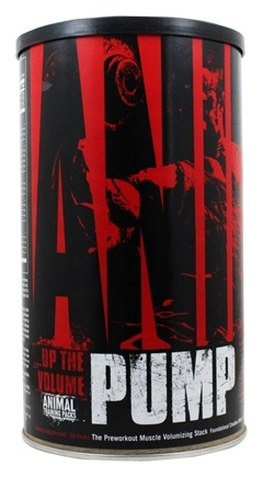 Animal - Animal Pump Preworkout Muscle Volumizing Stack - 30 Pack(s)