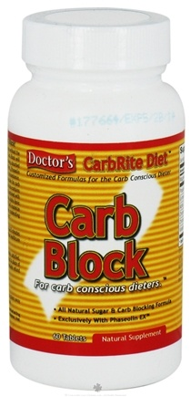 DROPPED: Universal Nutrition - Carb Block - 60 Tablets Contains White Kidney Bean Extract  CLEARANCE PRICED