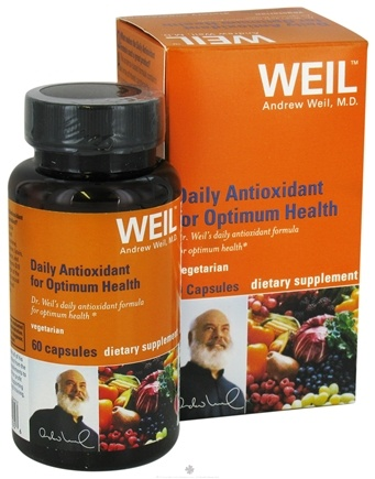DROPPED: Weil Nutritional Supplements - Daily Antioxidant for Optimum Health - 60 Vegetarian Capsules
