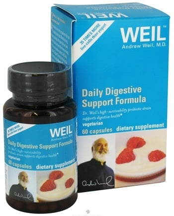 DROPPED: Weil Nutritional Supplements - Daily Digestive Support Formula - 60 Capsules