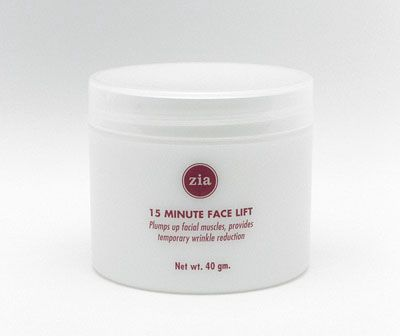 DROPPED: Zia - 15 Minute Face Lift - Refill(Instant firming for stressed or aging skin) - 40 Grams
