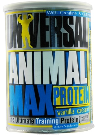 DROPPED: Animal Pak - Animal Max Protein Vanilla - 0.75 lb.