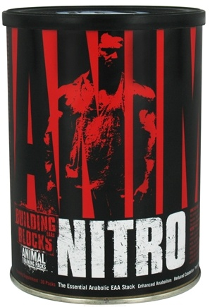 DROPPED: Animal Pak - Animal Nitro Essential Anabolic EAA Stack - 30 Pack(s) CLEARANCE PRICED