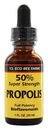 YS Organic Bee Farms - 50% Propolis Tincture - 1 oz.