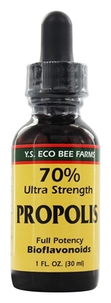 YS Organic Bee Farms - 70% Propolis Tincture - 1 oz.