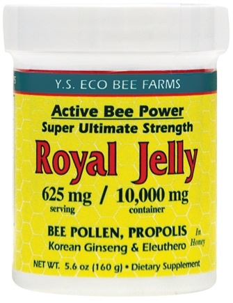 DROPPED: YS Organic Bee Farms - Alive Bee Power Royal Jelly Paste 10000 mg. - 5.6 oz. CLEARANCE PRICED