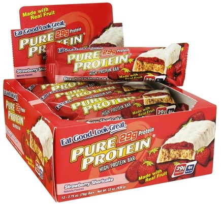 DROPPED: Pure Protein - High Protein Bar Strawberry Shortcake - 2.75 oz.
