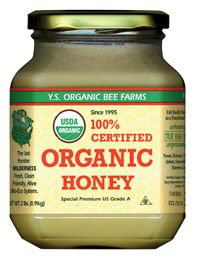 DROPPED: YS Organic Bee Farms - Certified Organic Honey Exotic Blend - 8 oz.