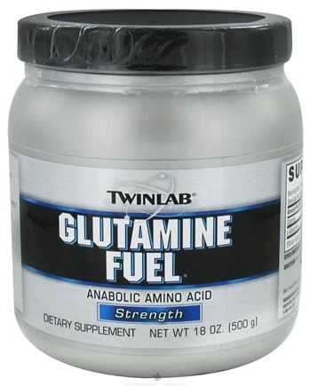 DROPPED: Twinlab - Glutamine Fuel Powder - 18 oz.