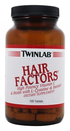 Twinlab - Hair Factors - 100 Tablets