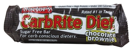 Universal Nutrition - Doctor's CarbRite Diet Bar Chocolate Brownie - 2 oz.