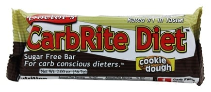 Universal Nutrition - Doctor's CarbRite Diet Bar Cookie Dough - 2 oz.