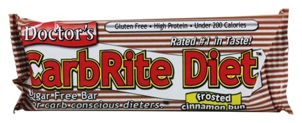 Universal Nutrition - Doctor's CarbRite Diet Bar Frosted Cinnamon Bun - 2 oz.