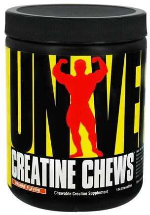 DROPPED: Universal Nutrition - Creatine Chews Orange Flavor - 144 Chews CLEARANCE PRICED
